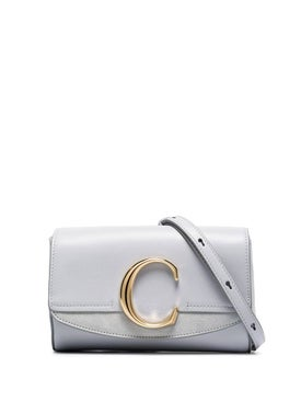 Chloé - Light Grey C-belt Bag - Belt Bags