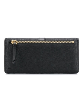 Aby long wallet Black