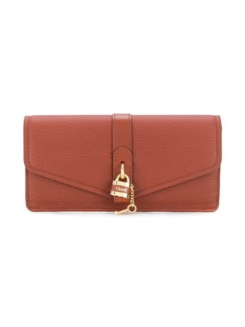 Chloé - Sepia Brown Aby Wallet - Women