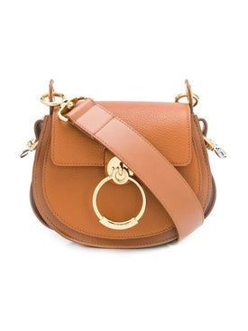 Chloé - Caramel Small Tess Camera Bag - Shoulder Bags