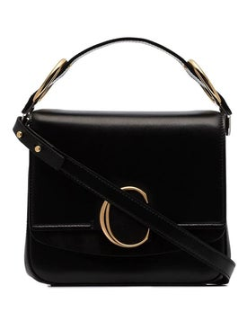 Chloé - Black Medium C Handbag - Women