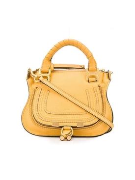 Honey yellow mini satchel bag