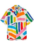 Vilebrequin - Vilebrequin X Jean Charles De Castelbajac Multicolor Short Sleeve Shirt - Men