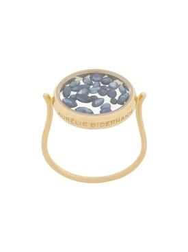 Chivor Ring Blue Sapphire