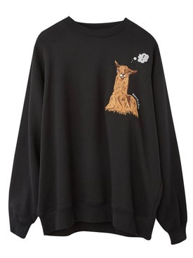 Acne Studios - Embroidered Llama Sweatshirt - Men