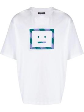 Check Face T-shirt