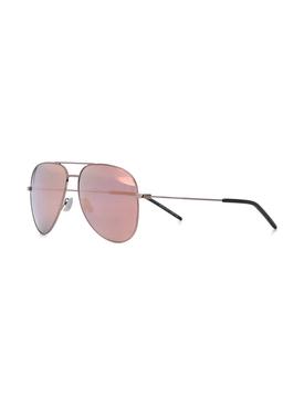 Classic reflective aviator sunglasses