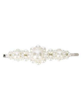 pearl flower hair clip
