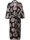 Julien David - Printed Kimono Coat - Women