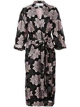 Julien David - Printed Kimono Coat - Women