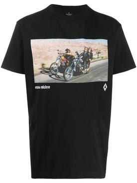 Marcelo Burlon County Of Milan - Easy Rider Logo T-shirt Black - Men