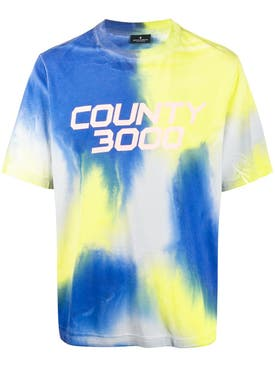 Marcelo Burlon County Of Milan - County 3000 Tie-dye T-shirt - Men