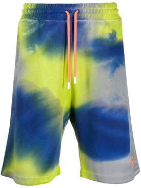 Marcelo Burlon County Of Milan - County 3000 Tie-dye Shorts - Men