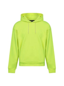 Martine Rose - Fluorescent Yellow Classic Hoodie - Men