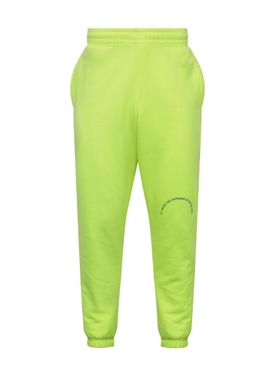 Fluorescent Yellow sweat pants