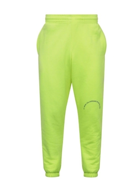 Martine Rose - Fluorescent Yellow Sweat Pants - Men