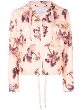 Coach - Floral Print Hooded Jacket - Women