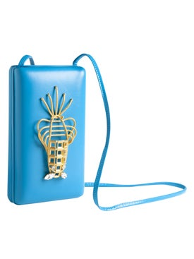 Sonia Petroff - Blue Lobster Bag - Crossbody