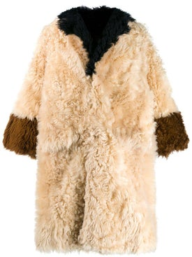 Marni - Reversible Panelled Fur Coat - Women