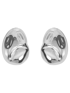 SILVER CUBAGUA EARRINGS