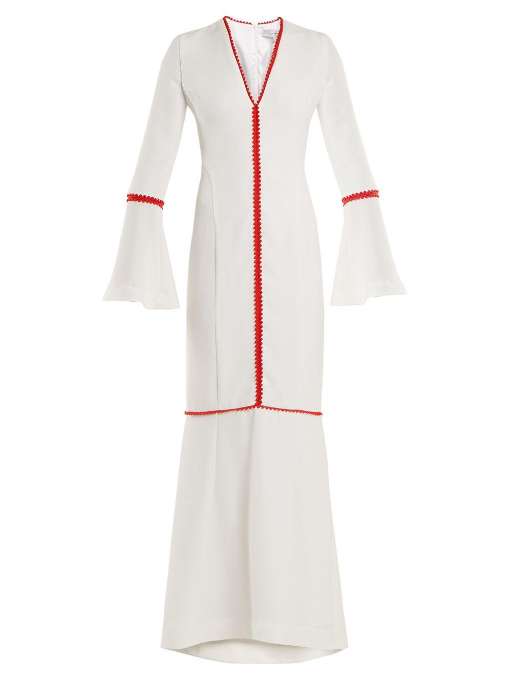 Maxi Bell Sleeve Dress