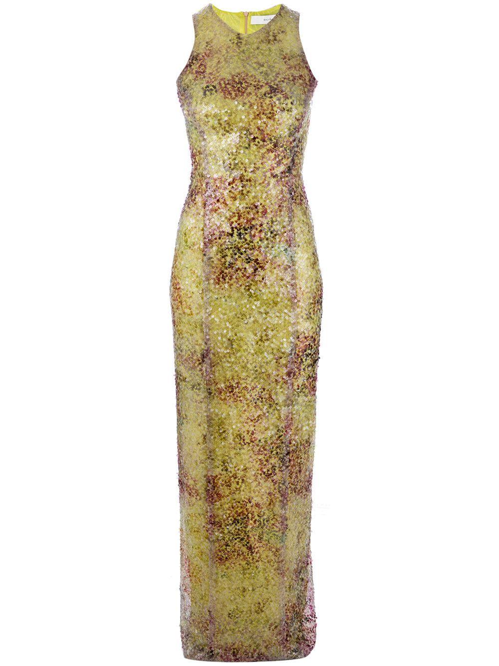 Sequin Racer-back Dress