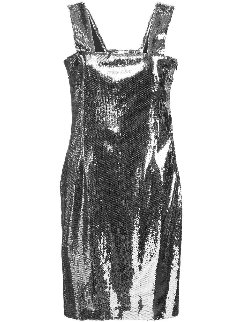 Chrome Mini Dress
