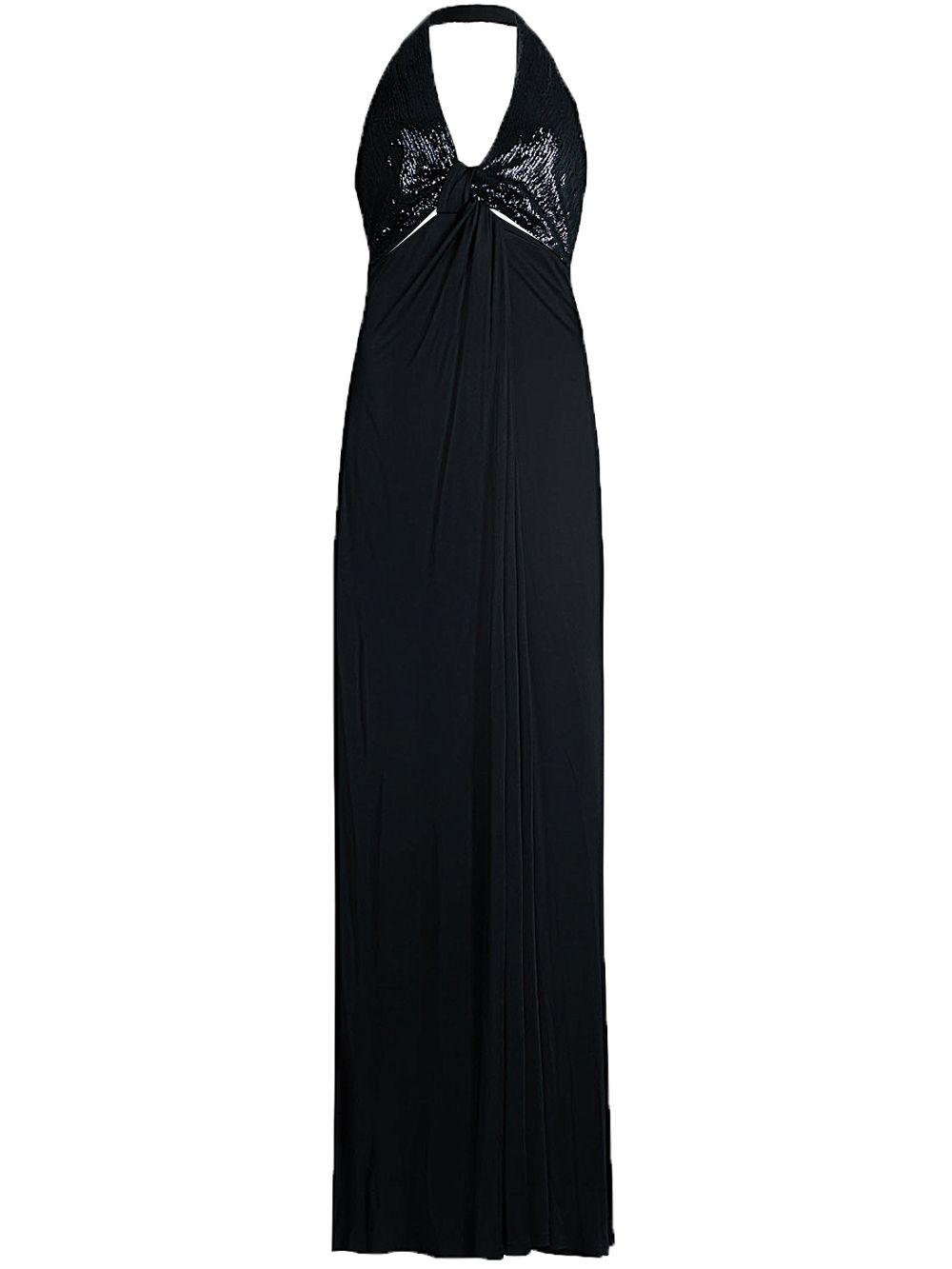 Contrast Twist Dress