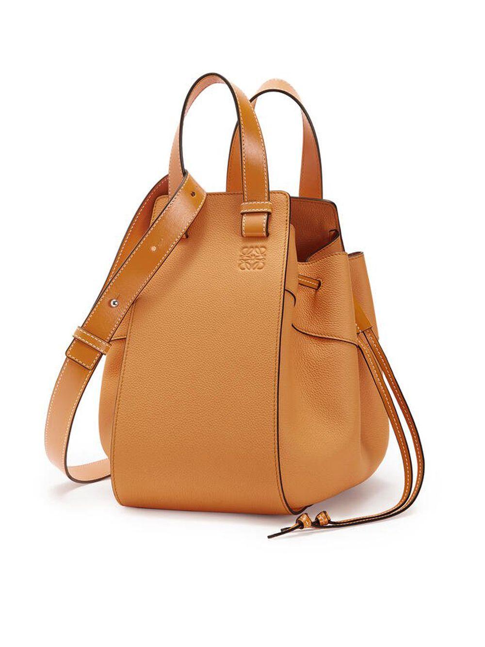 Light Caramel Hammock Bag