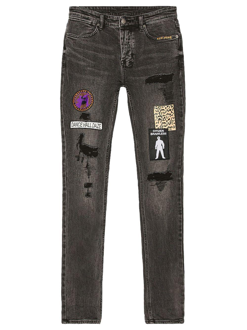Van Winkle Retox Black Jeans