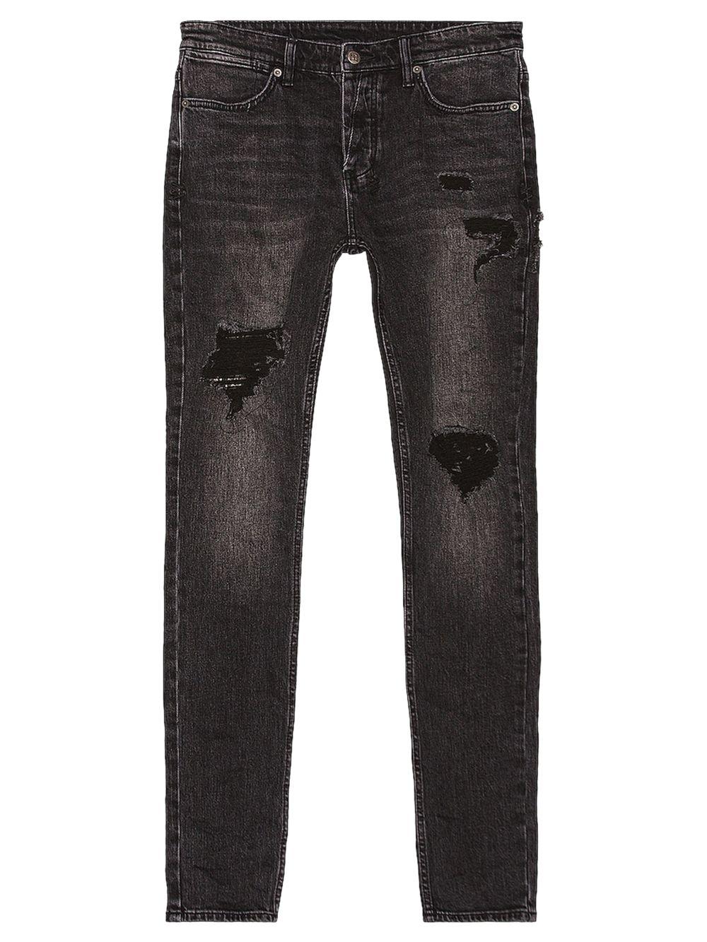 Van Winkle Jungle Patch Noir Jeans