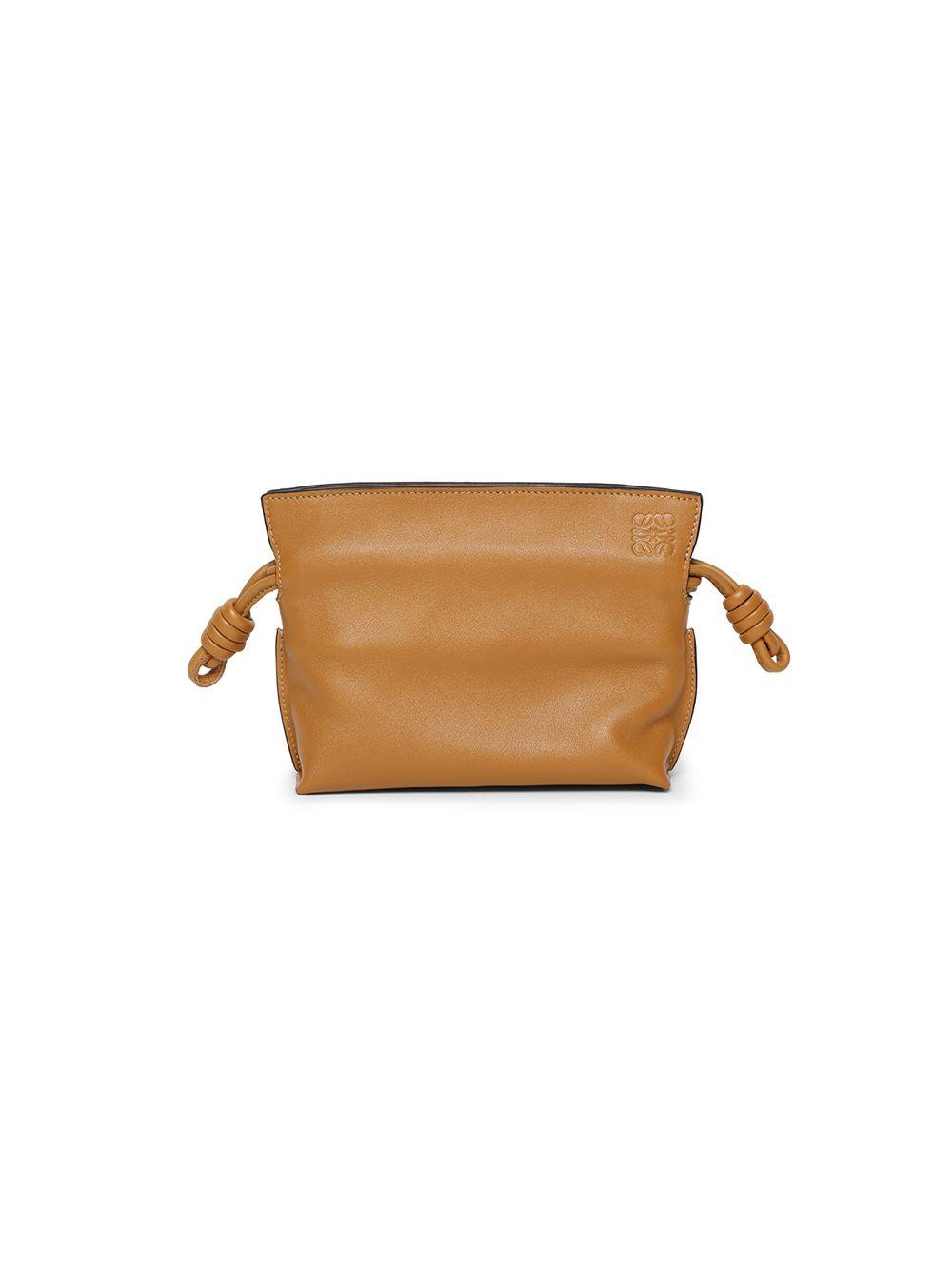 Nano Flamenco Leather Clutch