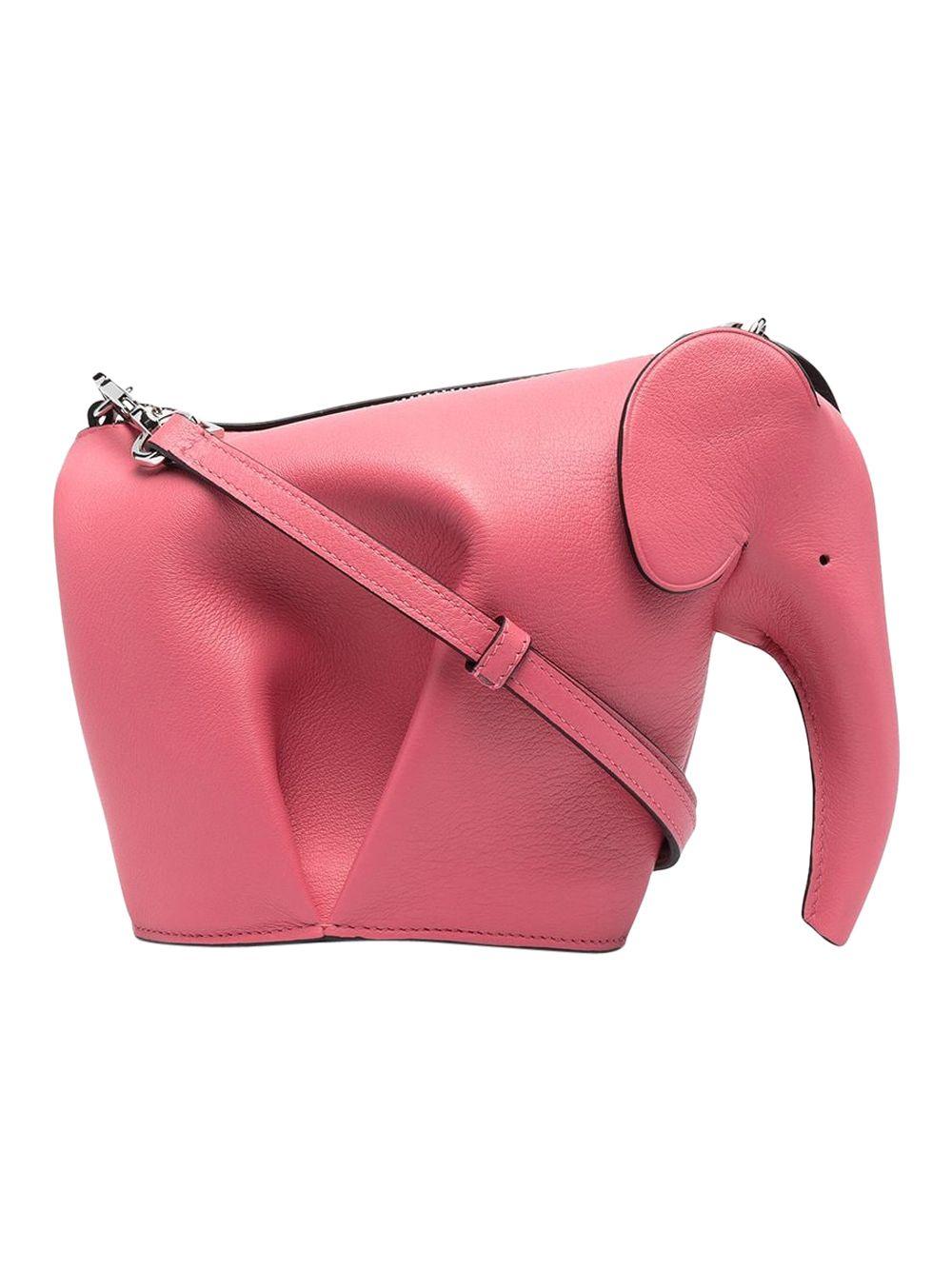 Leather Elephant Mini Bag,