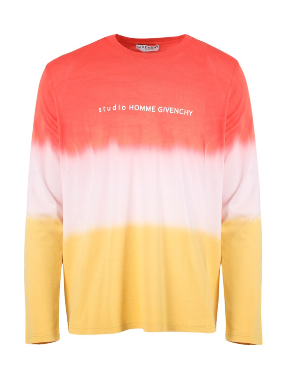 Givenchy T-shirts GRADIENT LONG-SLEEVE T-SHIRT