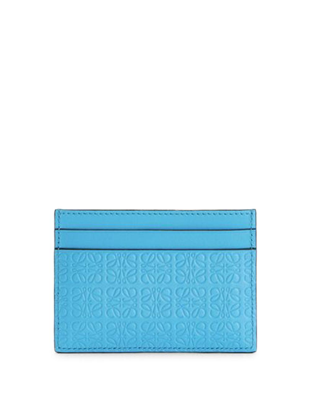 Repeat Plain Cardholder Cyan Blue