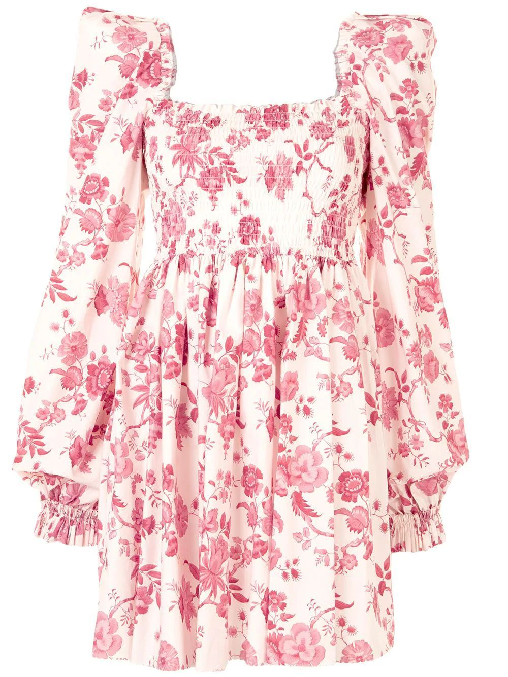 The Vampire's Wife LONG SLEEVE FLORAL PRINT DRESS