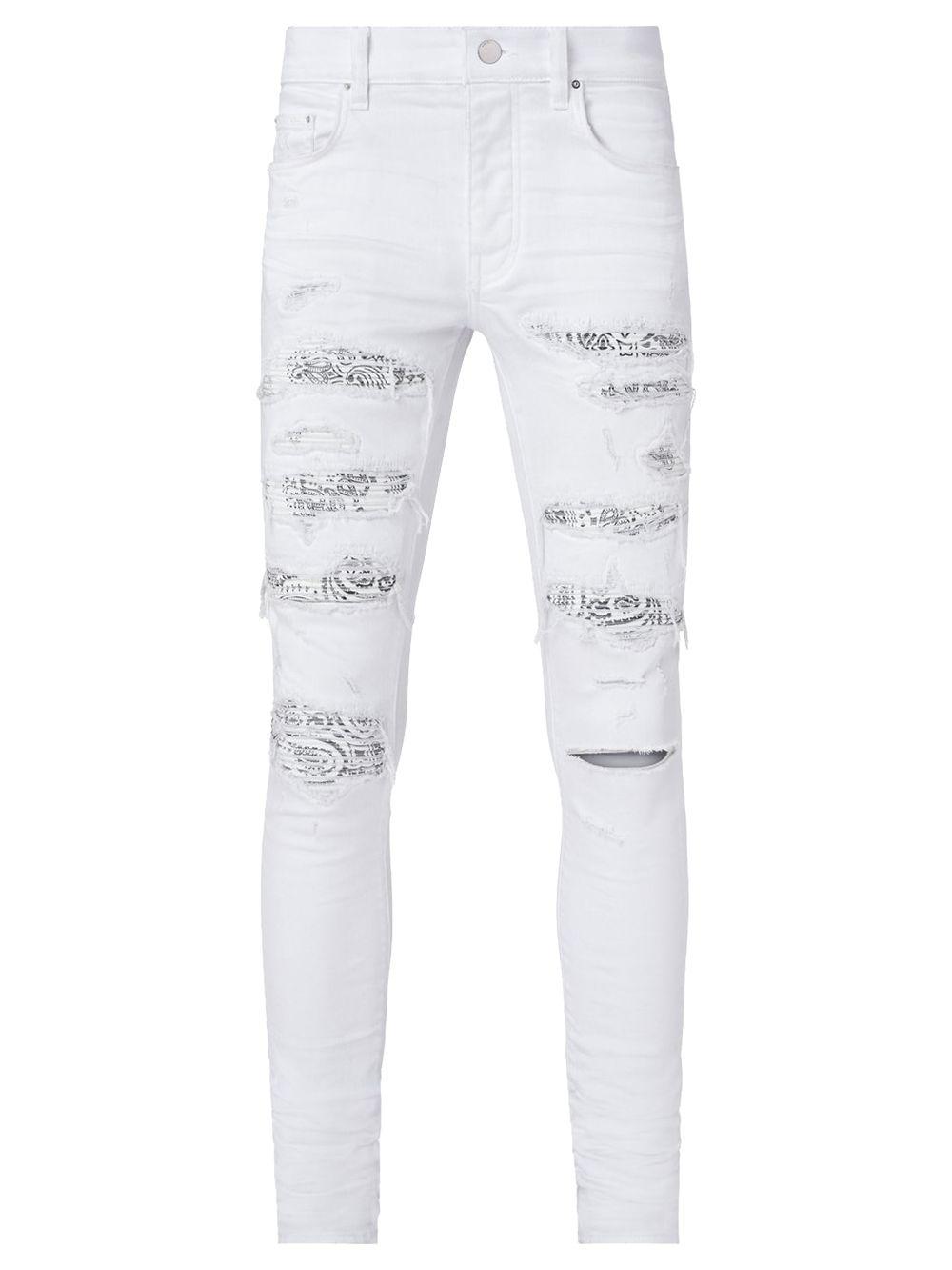Bandana Thrasher Jeans White