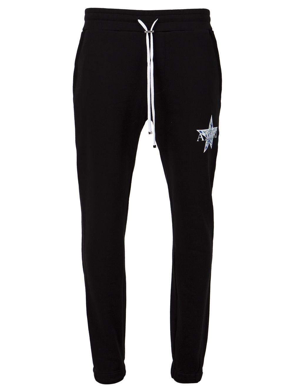 Paisley Star Sweatpants Black