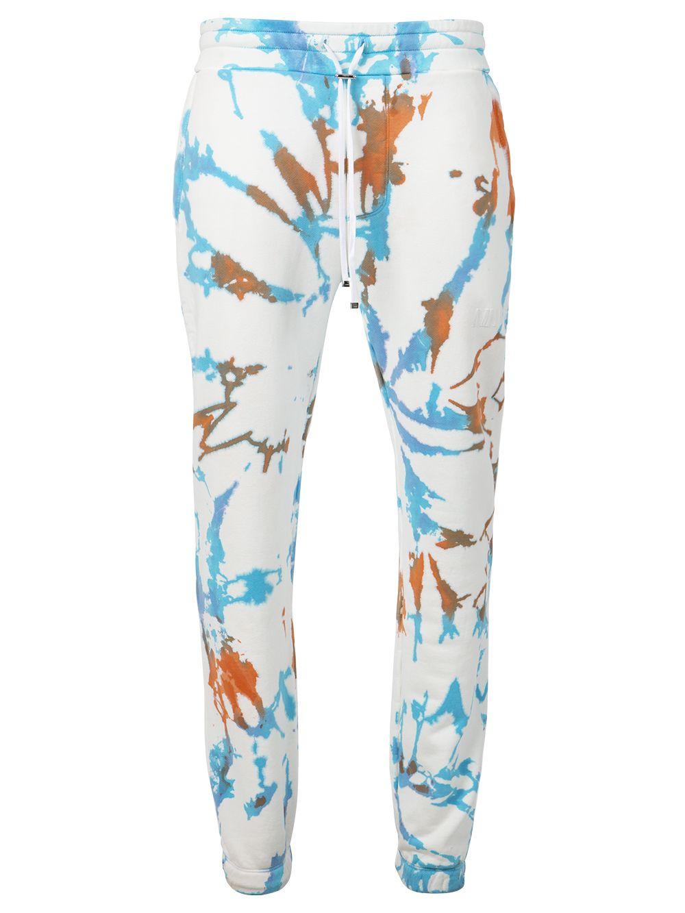 Core Tie Dye Sweatpants Surf White