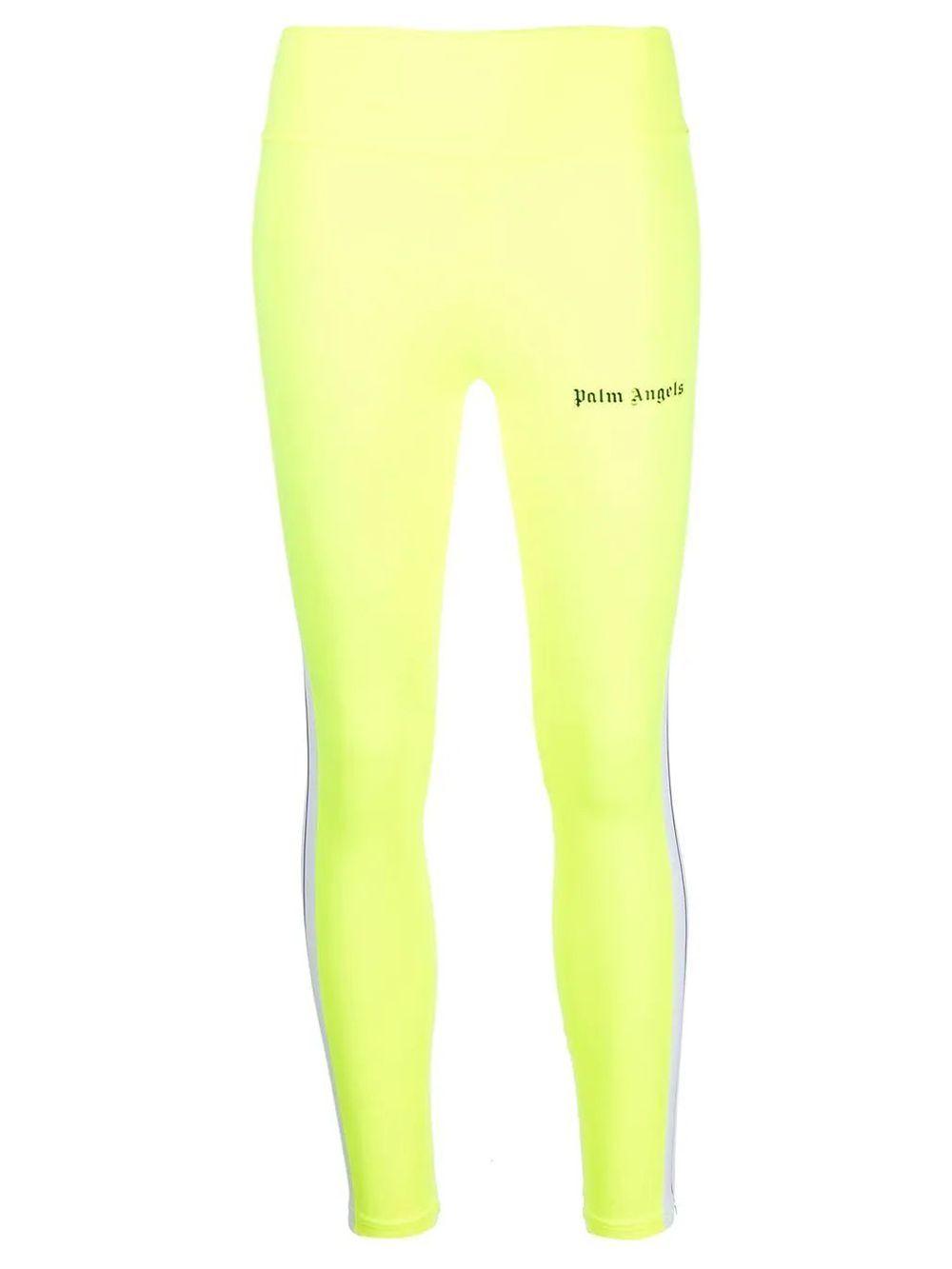 Track Leggings Neon Yellow