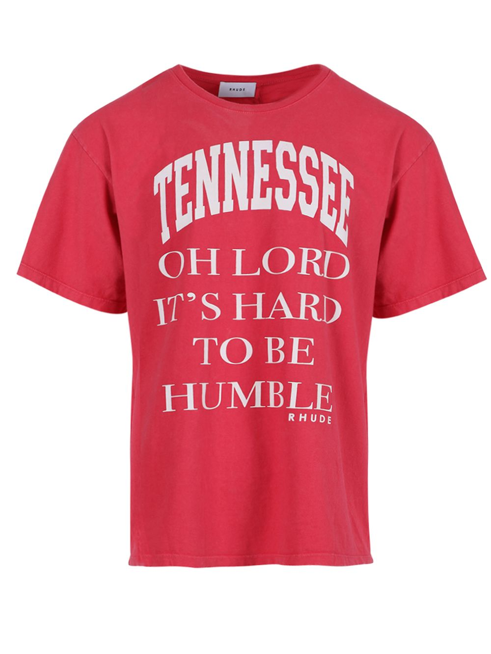 Rhude OH LORD T-SHIRT, RED