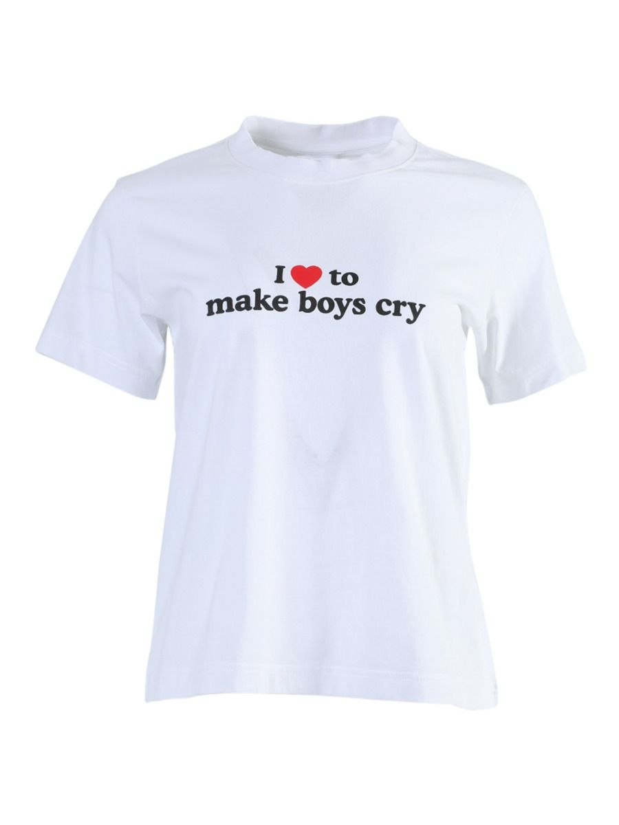 VETEMENTS I MAKE BOYS CRY T-SHIRT