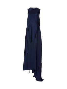Loewe - Sleeveless Satin Maxi Dress - Women
