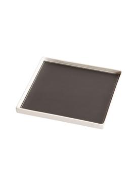 Singular Square tray, black