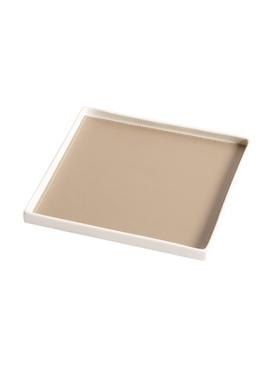 Singular Square tray, Taupe