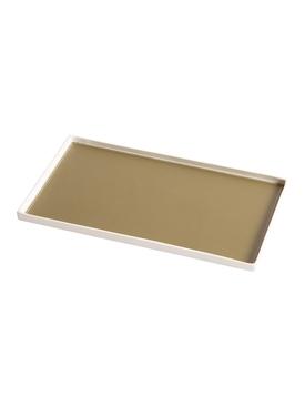 Singular Rectangular tray, Khaki