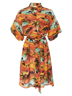OASIS SAFARI DRESS