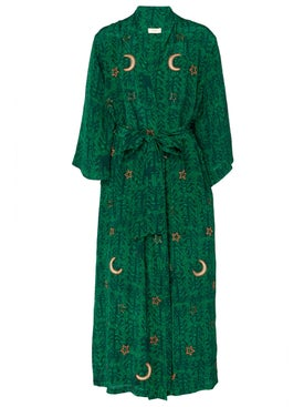 Chufy - Kaf Long Robe - Sleepwear