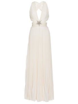 Dundas - Cut Out Silk Maxi Dress - Women