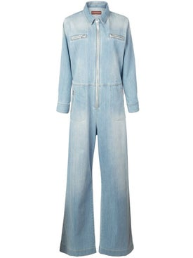 Alexachung - Light Blue Denim Jumpsuit - Women